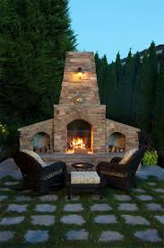 Outdoor Grill And Fireplace Designs - 53 most amazing outdoor fireplace designs ever