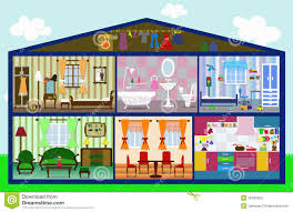 cute house cut royalty free stock image image 36493566