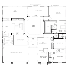 Ranch Style House Plans 5 Bedroom Ranch Style Homes Floor Plans Homes Zone