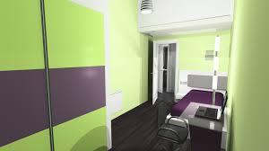 peinture violette chambre peinture violet vert meilleur idées de conception de maison