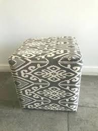 Ikat Ottoman Awesome Ikat Ottoman Cube Ottoman Grey Ikat Ottoman Taptotrip Me