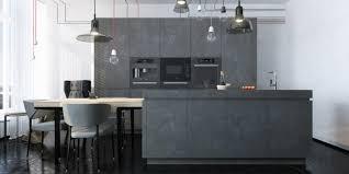 cuisine en gris cuisine grise profitez espace moderne 23 idées sympas