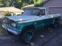 jeep kaiser custom original wheels u0026 springs included unrestored 1969 jeep gladiator