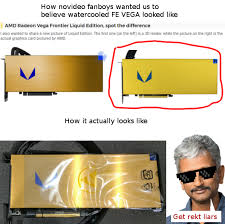 Amd Meme - raja owning novideo fans with sick looking designs ayymd