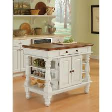 Kitchen Islands Images Americana Antique White Sanded Distressed Kitchen Island Home
