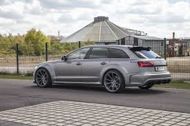 widebody audi rs6 by prior design shows muscles in monte carlo
