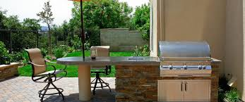 prefabricated kitchen islands outdoor kitchen kits vs modular vs built in comparing outdoor