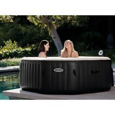 amazon com intex purespa jet u0026 bubble deluxe portable tub