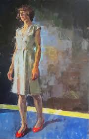british figurative painter james bland figurative portraits and