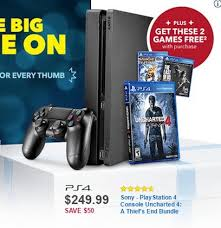 best black friday 2016 deals xbox one s ps4 slim and