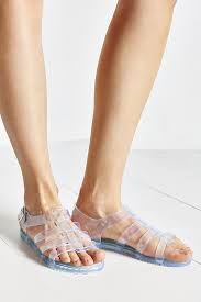 matiko jelly sandal in white lyst