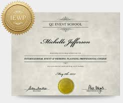 wedding planner certification event wedding planning course qc event school