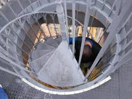 spiral stairway completes the journey to the top picture of