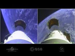 on board camera provides a unique perspective on arianespace u0027s