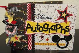 personalized autograph books disney autograph book k how would these be for the