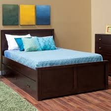 Minimalist Bed Frame Minimalist Bedroom Design With Espresso Full Bed Frame With