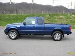 truck ford ranger 2011 ford ranger xlt supercab 4x4 in vista blue metallic a46333