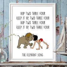 disney quotes jungle book print baloo mowgli digitalspot