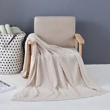 couverture canapé plaid pour canapé à tricoter en coton couverture jeté de canapé sofa