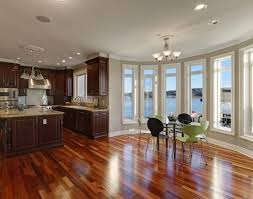 stained kitchen cabinets with hardwood floors hardwood floor refinishing sanding staining seattle