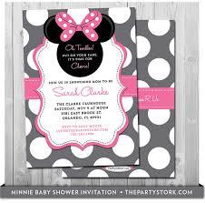 minnie mouse baby shower minnie mouse baby shower invitations gangcraft net