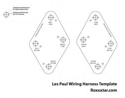 les paul printable wiring harness template roxxxtar productions