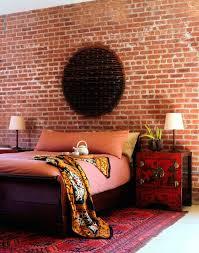 brick wallpaper for bedroom brick wall bedroom design 14335