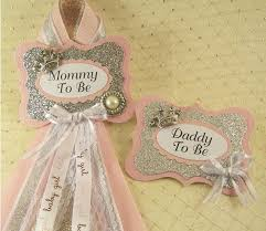 to be corsage best 25 baby shower badge ideas on girl baby shower