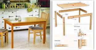 Table Top Fasteners by Kitchen Table Plans U2022 Woodarchivist
