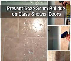 Soap Scum On Shower Door Prevent Soap Scum Buildup On Glass Shower Doors Jpg