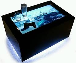 Pc Coffee Table Led Video Coffee Tables A Full Party Entertainment Package Walyou