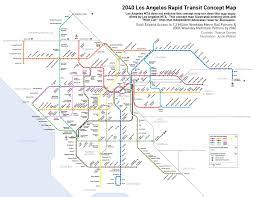 La Metro Train Map by Metro Train Map La Free Here