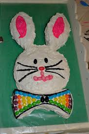 Decorate Easter Bunny Cake easter bunny cake
