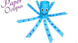 paper animals crafts for kids a simple octopus craft for
