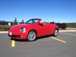 red volkswagen convertible test drive 2013 volkswagen beetle convertible