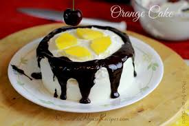 orange cake in cooker recipe u2013 uses egg u2013 video