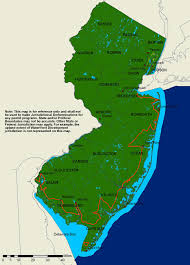 map of nj njdep coastal management program map of nj coasal zone