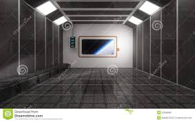 scifi room and space stock illustration image 50299859