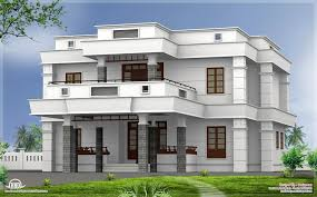 5 Bhk Modern Flat Roof House Design Kerala Home Design Floor Plan