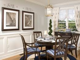Black And White Sailboat Prints For Back Wall In Dining Room Http - Dining room decorating photos
