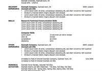 Monster Resume Templates Job Resume Templates Fred Resumes