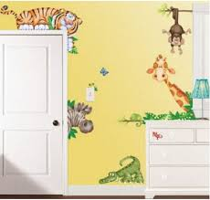 room decorating ideas nursery clocks baby wall decals