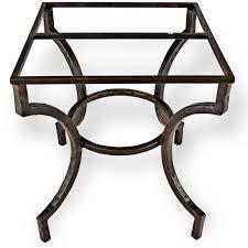 wrought iron pedestal table base interior winsome wrought iron dining table base 1 with concept hd