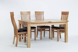 sherwood oak large extending dining table u0026 6 or 8 sherwood oak