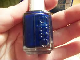 nail polish of the day essie in aruba blue nailed it