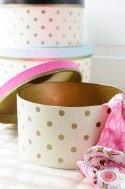 polka dot boxes how to decorate hat boxes polka dot hat box tutorial hat boxes