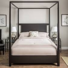 Canopy Bedroom Sets Queen by Lovely Plain Black Canopy Bedroom Sets Bedroom Black Canopy