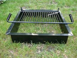 Firepit Accessories Steel Pit Inserts Square Station Landscape