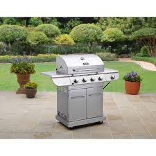 Walmart Bbq Canopy by Better Homes And Gardens Stainless Steel 4 Burner Gas Grill With