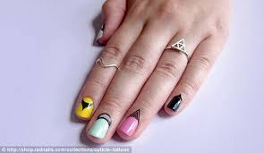 cuticle tattoos are latest nail trend taking beauty world by storm